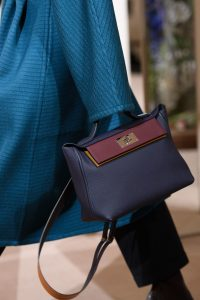 Hermes Indigo 24/24 Top Handle Bag - Pre-Fall 2019