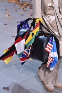 Louis Vuitton Black Keepall Bag with Flags - Fall 2019