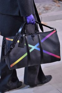 Louis Vuitton Black/Multicolor Keepall Bag - Fall 2019