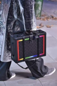 Louis Vuitton Black/Multicolor Monogram Trunk Bag - Fall 2019