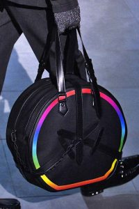 Louis Vuitton Black/Multicolor Round Bag - Fall 2019