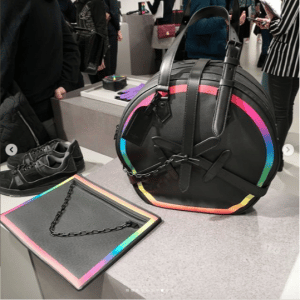Louis Vuitton Black/Multicolor Round and Pouch Bags