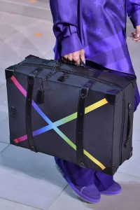 Louis Vuitton Black/Multicolor Soft Luggage Bag - Fall 2019