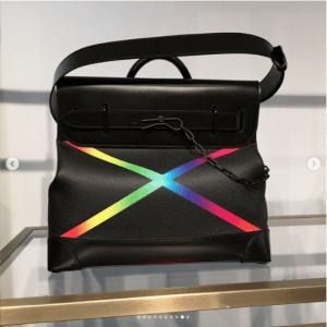 Louis Vuitton Black/Multicolor Steamer Bag
