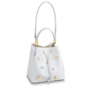 Louis Vuitton Blanc Epi NéoNoé Love Lock Bag