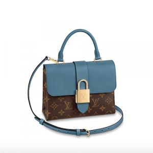 Louis Vuitton Bleu Jean Monogram Canvas Locky BB Bag