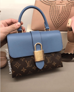 Louis Vuitton Bleu Jean Monogram Canvas Locky BB Bag