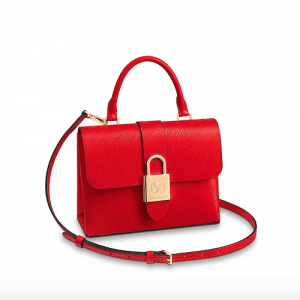 Louis Vuitton Coquelicot Epi Locky BB Bag