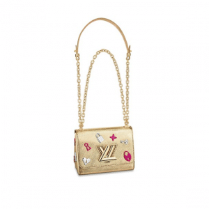 Louis Vuitton Gold Twist PM Love Lock Bag