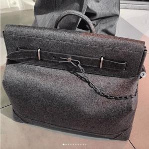 Louis Vuitton Gray Steamer Bag