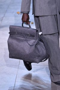 Louis Vuitton Gray Steamer Bag - Fall 2019
