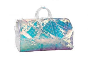 Louis Vuitton Iridescent Prism Keepall Bandouliere 50 Bag