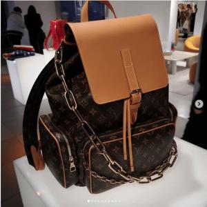 Louis Vuitton Monogram Canvas Backpack Bag