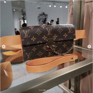 Louis Vuitton Monogram Canvas Belt Bag
