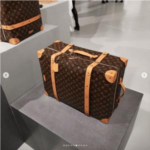Louis Vuitton Monogram Canvas Large Soft Trunk Bag