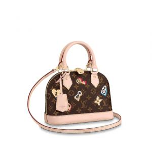 Louis Vuitton Monogram Canvas Love Lock Alma BB Bag