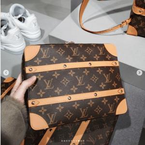 Louis Vuitton Monogram Canvas Pouch Bag