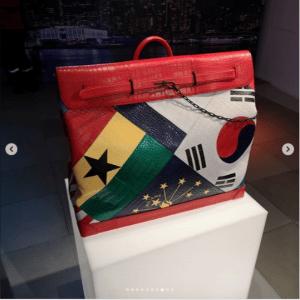 Louis Vuitton Multicolor Flag Patchwork Steamer Bag