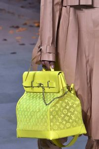 Louis Vuitton Neon Yellow Monogram Steamer Bag - Fall 2019