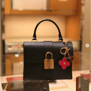 Louis Vuitton Noir Epi Locky BB Bag