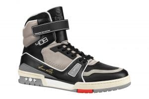 Louis Vuitton Noir High Top Sneaker