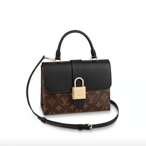 Louis Vuitton Noir Monogram Canvas Locky BB Bag