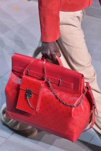 Louis Vuitton Red Monogram Steamer and Mini Flap Bags - Fall 2019