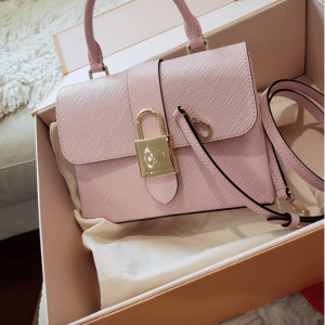 Louis Vuitton Rose Ballerine Epi Locky BB Bag