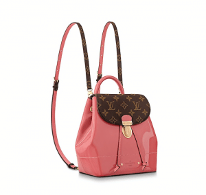 Louis Vuitton Vieux Rose Vernis:Monogram Canvas Hot Springs Backpack Bag