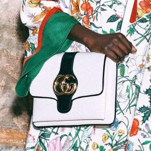 Gucci White Arli Shoulder Bag