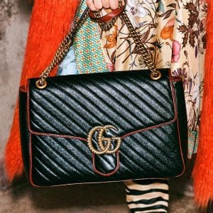 Gucci Black Arli Flap Bag