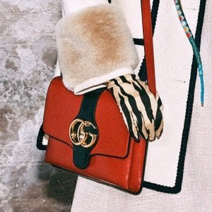 Gucci Red Arli Shoulder Bag