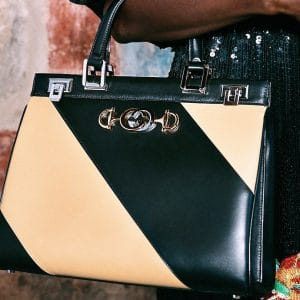 Gucci Black/Ivory Top Handle Bag 3