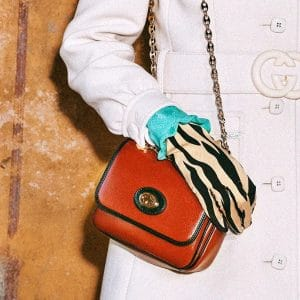 Gucci Red Flap Bag 6