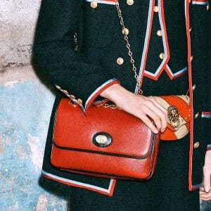 Gucci Red Flap Bag 3