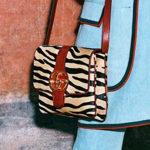 Gucci Zebra Print Arli Shoulder Bag 2