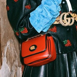 Gucci Red Flap Bag 5