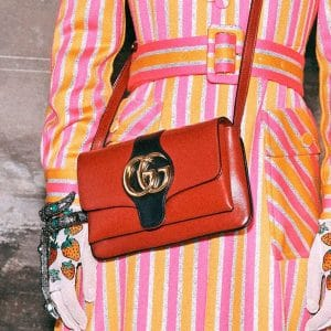 Gucci Red Arli Small Shoulder Bag