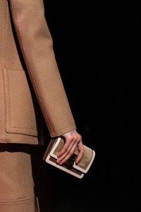 Burberry Tan/Beige Mini Envelope Clutch Bag - Fall 2019