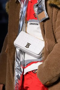 Burberry White Flap Bag - Fall 2019