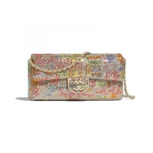 Chanel Multicolor Crystal/Goatskin Flap Bag