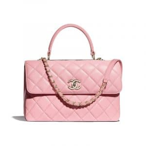 Chanel Pink Trendy CC Top Handle Bag