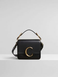 Chloe Black C Mini Bag