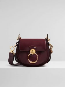 Chloe Burnt Brown Spazzolato Sfumato Tess Small Bag