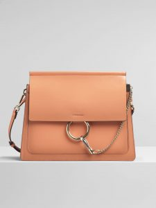 Chloe Canyon Sunset Spazzolato Sfumato Faye Medium Shoulder Bag