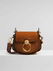 Chloe Caramel Spazzolato Sfumato Tess Small Bag