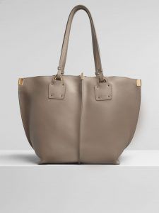 Chloe Motty Grey Vick Medium Tote Bag