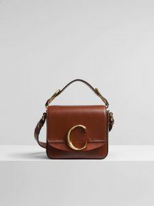 Chloe Sepia Brown C Mini Bag
