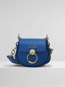 Chloe Smoky Blue Tess Small Bag