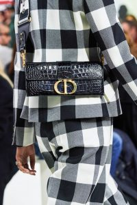 Dior Black Crocodile Flap Bag - Fall 2019